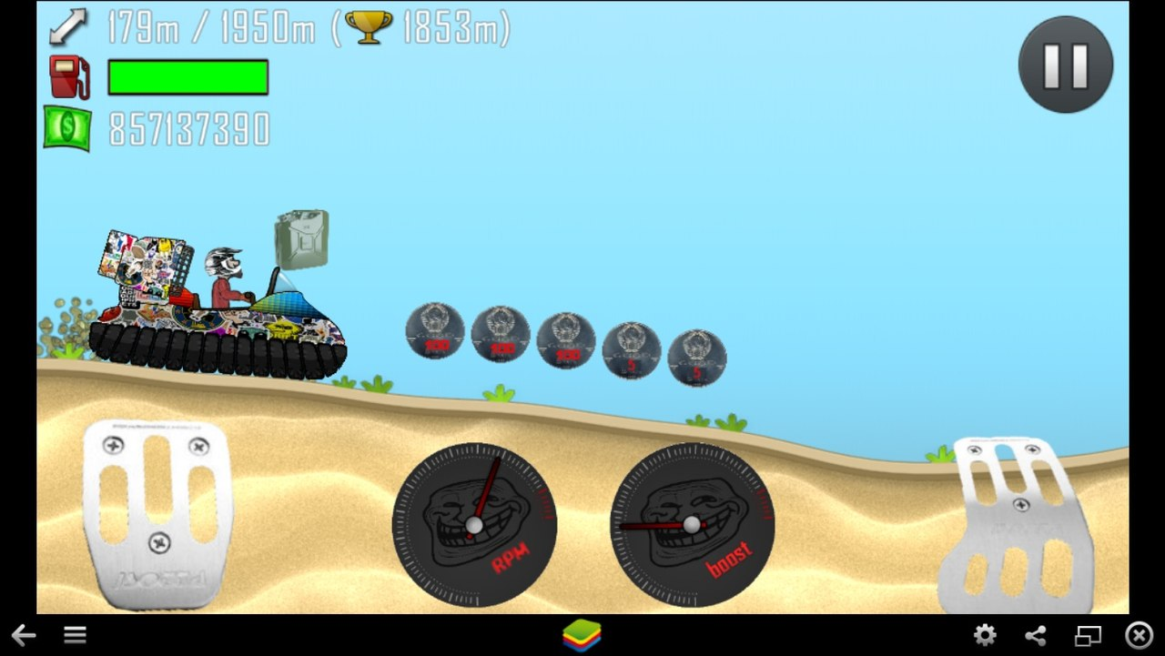 Hill Climb Racing Android Скачать