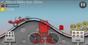 Бензин в Hill Climb Racing